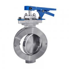 Double Offest Butterfly Valve