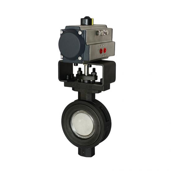 Pneumatic High Performance Butterfly Valve